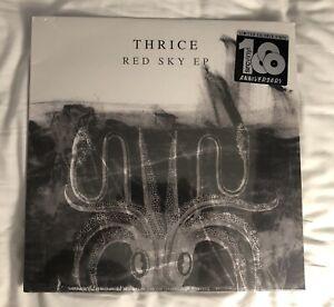 THRICE - RED SKY EP *SEALED* ( LTD COLOR VINYL ) NEW - RARE!!!