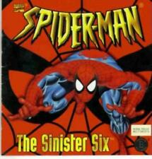Spider-Man The Sinister Six PC CD comic book based marvel heroes stop evil game!
