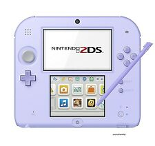 New Nintendo 2DS Console System Lavender [Japanese Version] Free Shipping