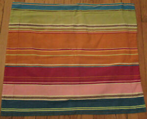 Pottery Barn PB Teen Pura Vida Striped Standard Pillow Sham