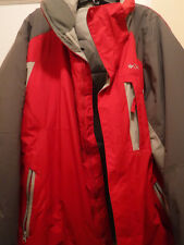 Columbia Sportswear Company,Men's Heavy Jacket, Size XL, used once, Red-gray