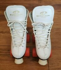 Dominion Espirit Roller Skate  Marathon IV Orange Wheels White Size 3