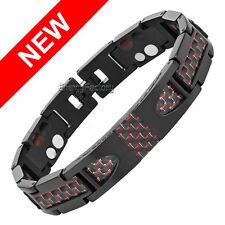 Therapeutic Energy Healing Bracelet Titanium Magnetic Therapy Bracelet UK