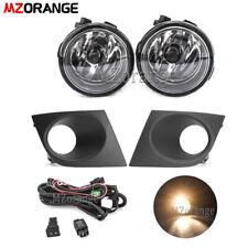for 2007-2011 Nissan Versa Tiida Bumper Fog Light Lamp w/Bulb +Wiring+Switch Kit