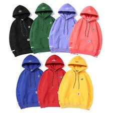 Unisex-Kapuzenpullover AAPE And Velvet Sleeves Hooded Sweater BAPE