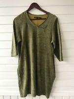 BEAUTIFUL GUDRUN SJODEN ORGANIC COTTON/POLYESTER DRESS SIZE S SOFT