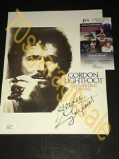 Gordon Lightfoot Autographed Item ( JSA )