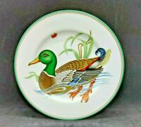 "(Set of 2) 1980 Fitz and Floyd, Inc. ""Canard Sauvage"" Duck Salad Plates"