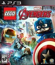 PS3 LEGO Marvels Avengers NEW Sealed Region Free USA Captain America!