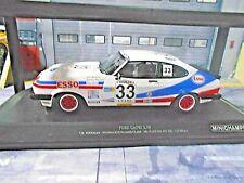 FORD Capri 3 Racing 24h Spa 1981 #33 Woodman Buncombe Clark E SP Minichamps 1:18