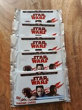 5 Packs - Journey to Star Wars: The Last Jedi Cards Topps
