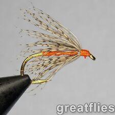 1 dozen (12) - Soft Hackle - Partridge & Orange