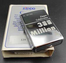 Zippo 300 millón lighter, Limited Edition (nº: NL 129/300) rareza de 1996