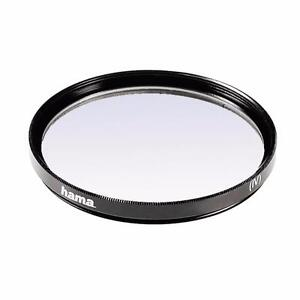 NEW HAMA 55MM COATED UV FILTER LENS PROTECTOR ULTRA THIN 3MM METAL MOUNT 70055