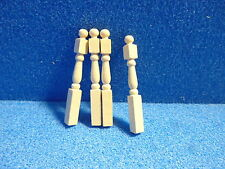 1/24 scale Dolls House DIY    NEWEL POSTS  x 4        24DHD30139B