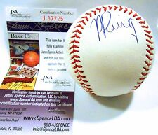Yasiel Puig Rookie JSA Authenticated Auto Autograph Signed Ball Baseball Dodgers