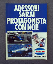 G718 - Advertising Pubblicità - 1988 - TAMOIL UNA SVOLTA DI QUALITA'