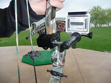 Bow hunting camera mount for GoPro simple bow mount for PSE Hoyt Mathews &more
