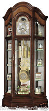 Howard Miller 610-939 Majestic ll - Curio Cabinet Grandfather Clock 610939