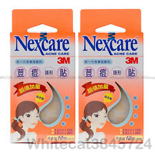 3M NEXCARE ACNE DRESSING PIMPLE STICKERS PATCH COMBO 36PCS (2X PACKS)