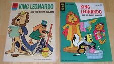 King Leonardo & his Short Subjects #3 & 4 VFNM CONDITION 1961 Series SHIPS FREE