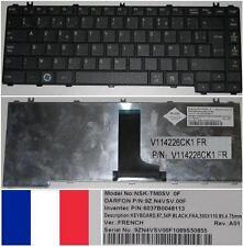 Teclado Azerty TOSHIBA Satellite L600 9Z.N4VSV.00F NSK-TM0SV 6037B0048113 Negro