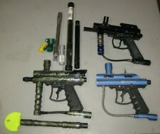 Paintball Guns & Accessories Lot - VL Triton II, Genesis Surge II, Spyder 2000