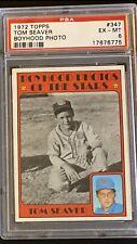 PSA 6 1972 Topps Tom Seaver New York Mets #347 Baseball Card