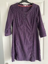 LADIES BEAUTIFUL BODEN CORD DRESS SIZE 10