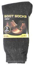 Mens Warm Thermal Socks (3 Pair) Keeps Feet Warmer Longer Winter Snow gear