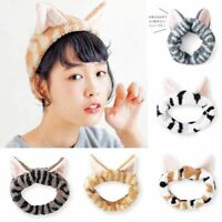 Women's Fashion Cute Cat Ears Hairband Headdress Hair Accessories Makeup Tools