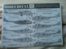 1/72 Modeldecal 101 RAF Vampire F3, FB5 /9, PHANTOM FG1,111 Sqn,Tornado GR1 & F3