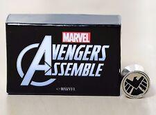 MARVEL COMIC Avengers SHIELD Charm Bead fits major brands Chamilia, Biagi, Troll