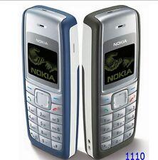 Téléphone Mobile Nokia 1110i + batterie + chargeur - NOIR - désimlocké