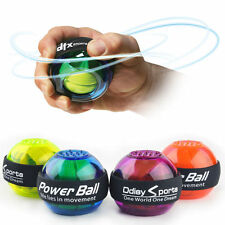 Fashion Gyroscope Power Force Ball LED Gyro Wrist Ball For Fitness Arm Muscle