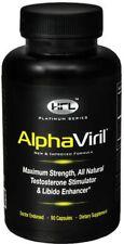 AlphaViril  by Dr Sam Robbins | 80 Capsules