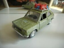 Polistil Fiat 127 Ski Holiday in Green on 1:25