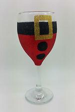 Santa paillettes verre décoration de noël table de fête boisson cadeau