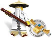 Master Wu Ninjago Golden Dragon Ninja Spinjitzu Custom Lego Mini Figure Sensei