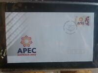 AUSTRALIA 2007 APEC FORUM FDC FIRST DAY COVER