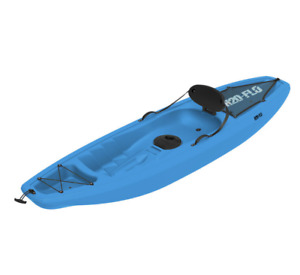 H20-FLO 9ft (266cm) Sit-On Single Kayak with Paddle GENUINE/NEW