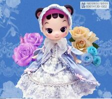 Lovely Doll_Celli cat Blue Dress in package box with stand