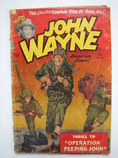 John Wayne Adventure Comics #14 (1952, Toby) [GD+ 2.5]