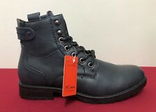 Mens Ankle Boots by Jinera Handmade Navy Blue Quality Boxed