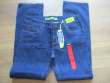 ladies denim co straight denim stretch jeans size 16 blue new with tags