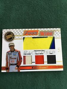 2008 Press Pass Kasey Kahne 4 WIDE 4 relic card 1/1 one of one