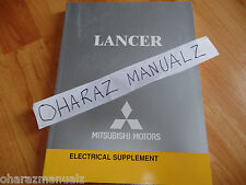 2004 Mitsubishi Lancer Electrical Supplement Service Manual OEM