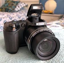 Nikon COOLPIX L120 14.1MP Digital Camera~~Black~~Parts or Repair~~