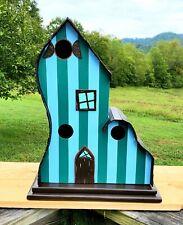 Beautiful Functionable Fun Rustic 3 Room Birdhouse Condo