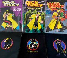 "Walt Disneyâ""¢ Dick Tracy Movie Adaptation Comic Book Issues Rare Vintage Set"